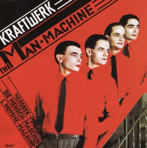 Artist: Kraftwerk Album: The Man-Machine Designer: Karl Klefisch/Günther Fröhling